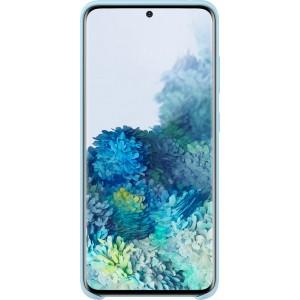 Samsung EF-PG980TL Silicone Cover pre Galaxy S20, modré