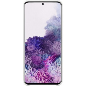 Samsung EF-PG980TW Silicone Cover pre Galaxy S20, biele