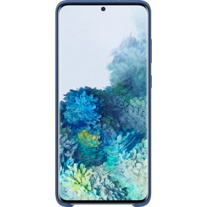 Samsung EF-PG985TN Silicone Cover pre Galaxy S20+, tmavo modré
