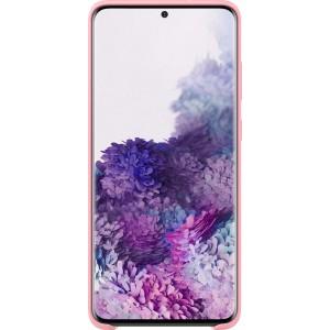 Samsung EF-PG985TP Silicone Cover pre Galaxy S20+, ružové