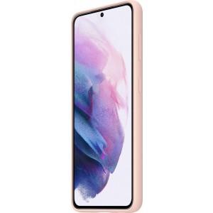 Samsung silikónový zadný kryt EF-PG991TPE pre S21, ružové