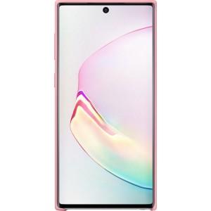 Silikónový zadný kryt pre Galaxy Note10, ružový