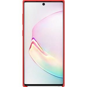 Silikónový zadný kryt pre Galaxy Note10, červený