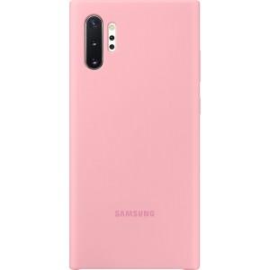 Silikónový zadný kryt pre Galaxy Note10+, ružový