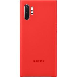 Silikónový zadný kryt pre Galaxy Note10+, červený