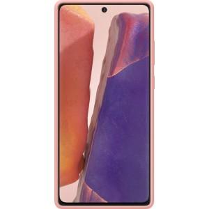 Samsung EF-PN980TA Silicone Cover pre Galaxy Note20, hnedé