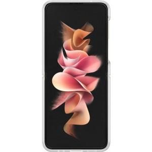 Samsung priehľadný kryt s držiakom na prst pre Z Flip3, priehľadný