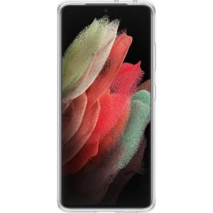 Samsung priehľadný zadný kryt EF-QG998TTE pre S21Ultra, transparentné