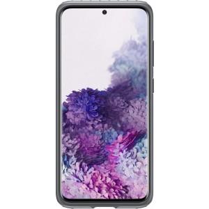 Samsung EF-RG980CS Protective Standing Cover pre Galaxy S20, strieborné