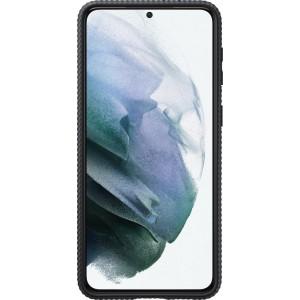 Samsung tvrdený ochranný zadný kryt so stojankom EF-RG996CBE pre S21+, čierne
