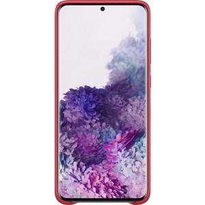 Samsung EF-VG985LR Leather Cover pre Galaxy S20+, červené