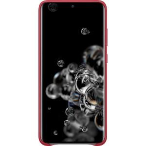 Samsung EF-VG988LR Leather Cover pre Galaxy S20 Ultra, červené