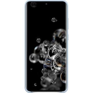 Samsung EF-VG988LL Leather Cover pre Galaxy S20 Ultra, modré