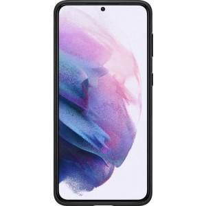 Samsung koženný zadný kryt EF-VG996LBE pre S21+, čierne