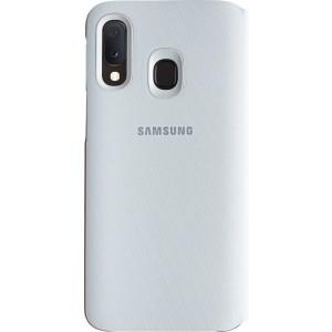 Samsung flipové púzdro EF-WA202PW pre Samsung Galaxy A20, biele
