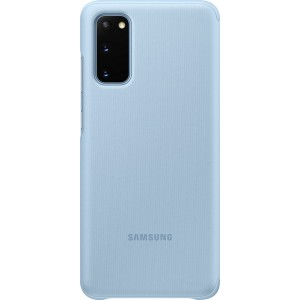 Samsung EF-ZG980CL Clear view cover pre Galaxy S20, modré