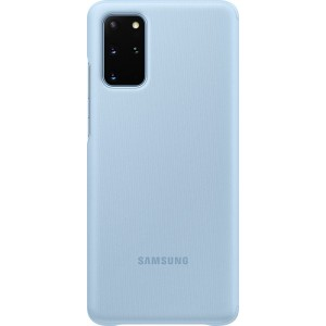Samsung EF-ZG985CL Clear view cover pre Galaxy S20+, modré