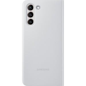 Samsung flipové puzdro Clear View EF-ZG991CJE pre S21, šedé
