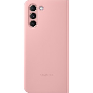Samsung flipové puzdro Clear View EF-ZG991CPE pre S21, ružové