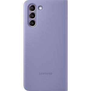 Samsung flipové puzdro Clear View EF-ZG991CVE pre S21, fialové