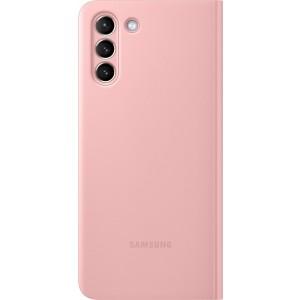 Samsung flipové puzdro Clear View EF-ZG996CPE pre S21+, ružové