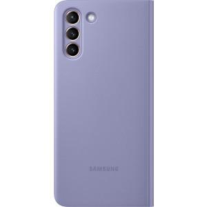 Samsung flipové puzdro Clear View EF-ZG996CVE pre S21+, fialové