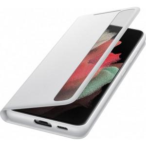 Samsung flipové puzdro Clear View EF-ZG998CJE pre S21Ultra, šedé