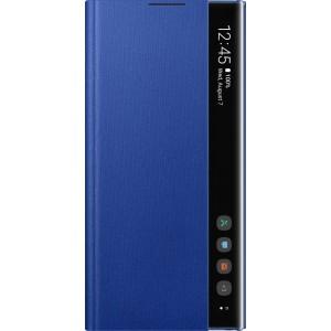Flipové puzdro Clear View pre Galaxy Note10+, modré