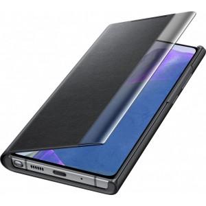 Samsung EF-ZN980CB Clear view cover pre Galaxy Note20, čierne