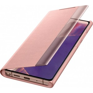 Samsung EF-ZN980CA Clear view cover pre Galaxy Note20, hnedé