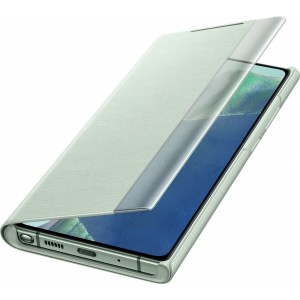 Samsung EF-ZN980CM Clear view cover pre Galaxy Note20, slabozelené