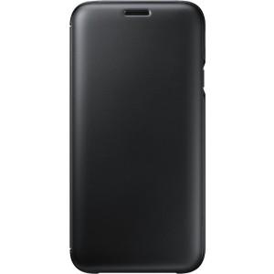 Samsung flipové púzdro EF-WJ730CB pre Galaxy J7 2017, Čierna