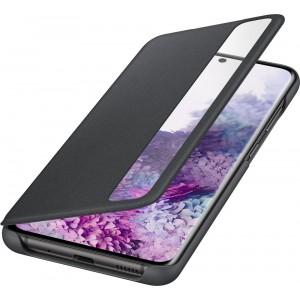 Samsung EF-ZG985CB Clear view cover pre Galaxy S20+, čierne