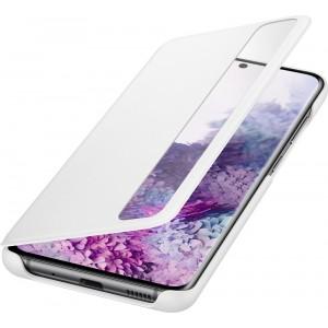 Samsung EF-ZG980CW Clear view cover pre Galaxy S20, biely