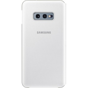 Samsung LED View púzdro EF-NG970PW pre Galaxy S10e, biele
