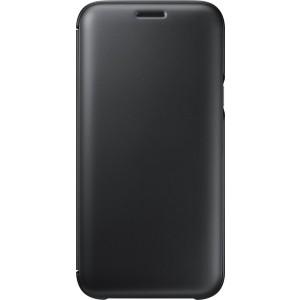 Samsung flipové púzdro EF-WJ530CB pre Galaxy J5 2017, Čierna