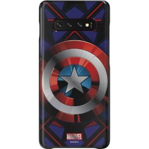 Samsung MARVEL zadný kryt GP-G975HIFGHWC pre S10+, Captain America