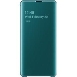 Samsung Clear View púzdro EF-ZG975CG pre Galaxy S10+, zelené