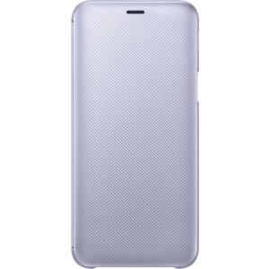 Samsung flipové púzdro EF-WJ600CV pre Samsung Galaxy J6 Fialové