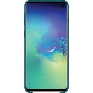 Samsung kožený kryt EF-VG973LG pre Galaxy S10, zelený