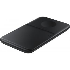 Samsung duálna bezdrôtová nabíjačka, bez kábla v balení EP-P4300BBE, čierna - otvorené balenie