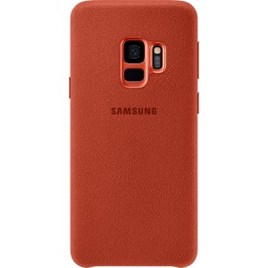 Samsung Alcantara púzdro EF-XG960AR pre Galaxy S9 Červené