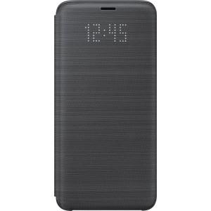 Samsung LED flipové púzdro EF-NG960PB pre Galaxy S9 Čierne