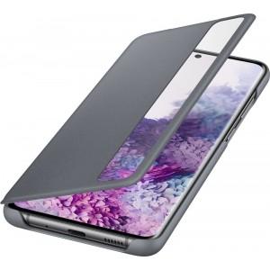 Samsung EF-ZG988CJ Clear view cover pre Galaxy S20 Ultra, šedé