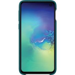 Samsung kožený kryt EF-VG970LG pre Galaxy S10e, zelený